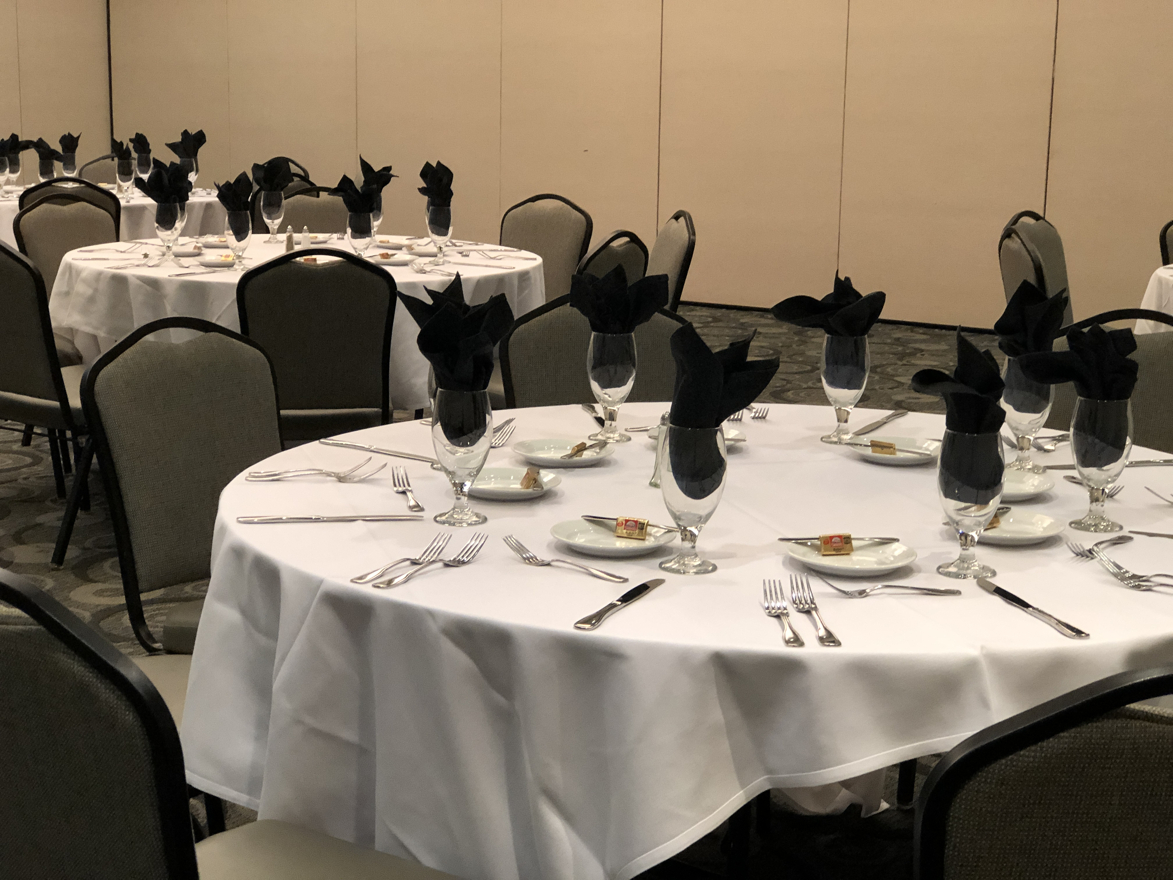 Business Etiquette Dinner - Table Settings