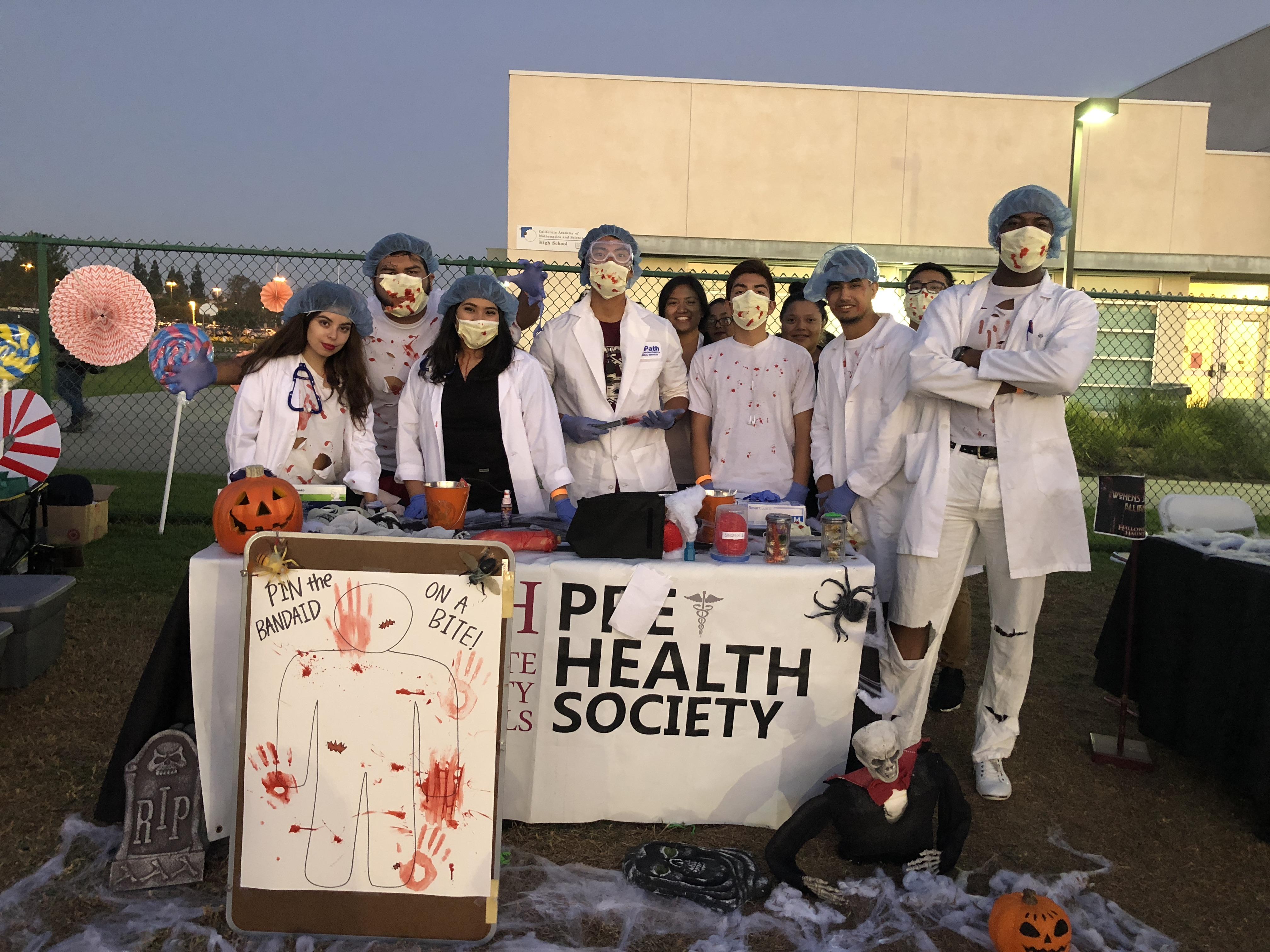 Halloween Haunt - Pre Health Society