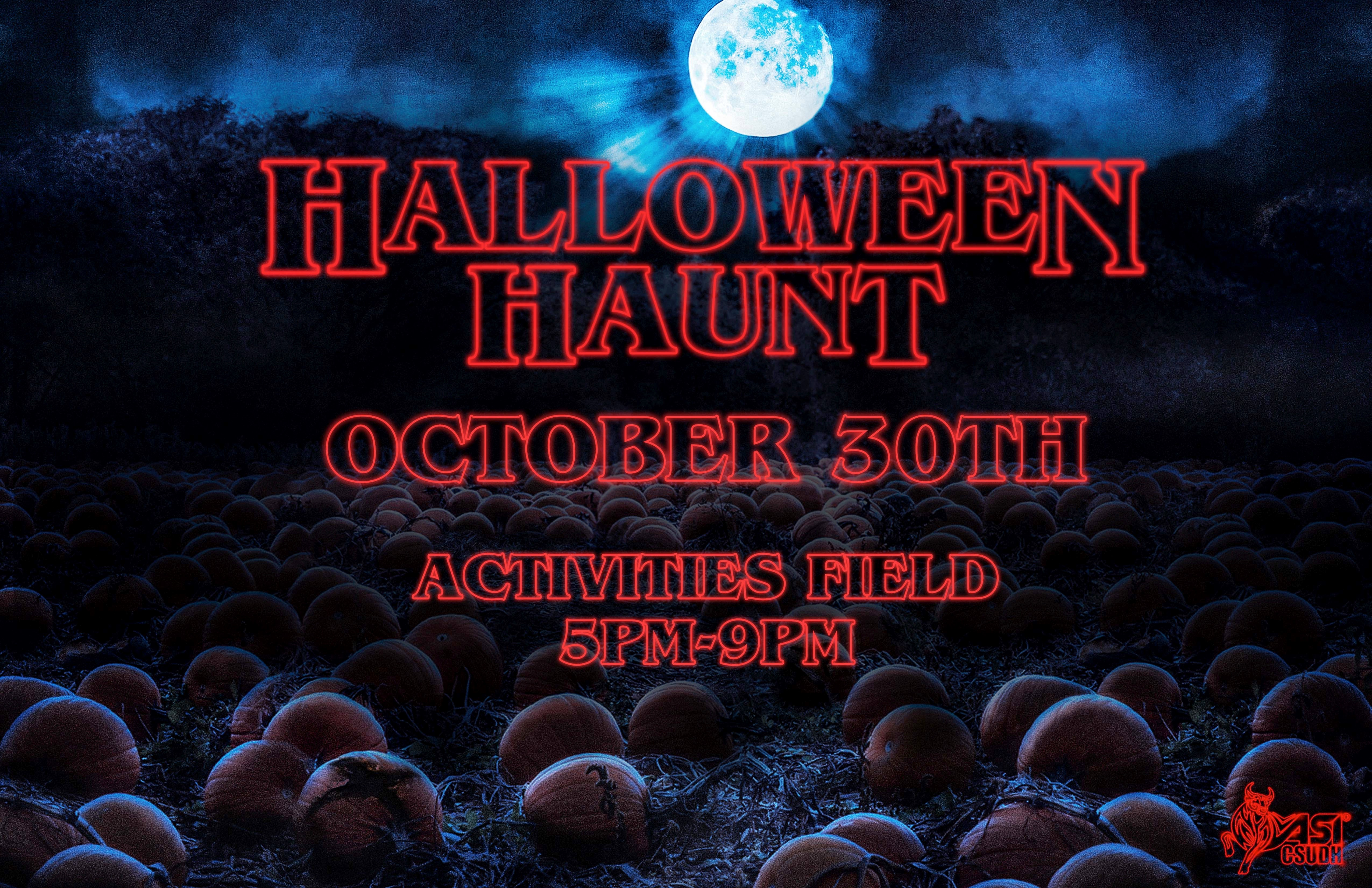 Join us for Halloween Haunt